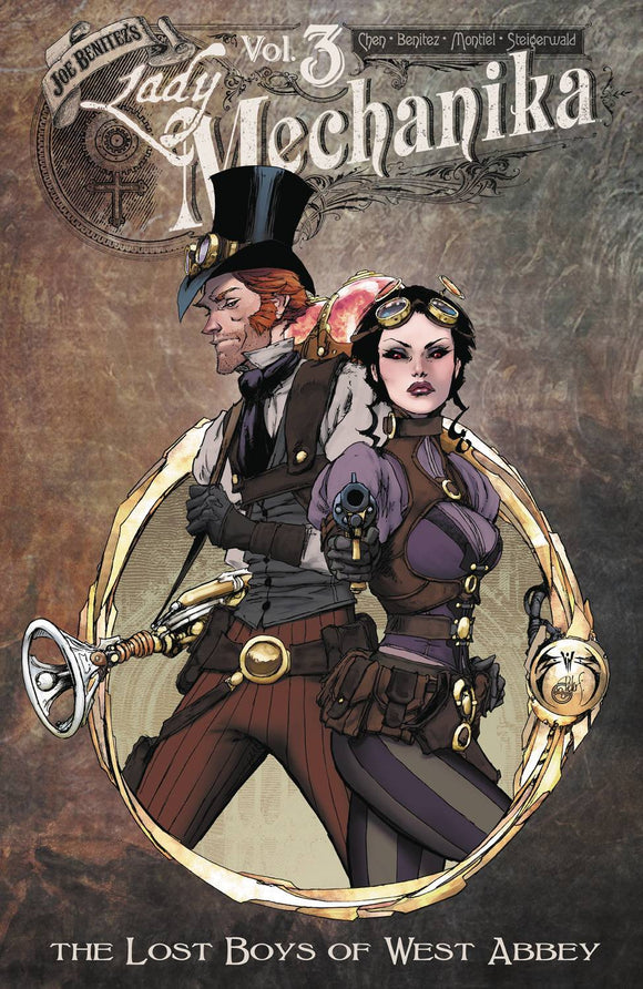 Lady Mechanika (Paperback) Vol 03 Lost Boys Of West Abbey Graphic Novels published by Benitez Productions