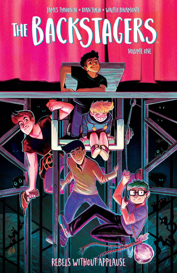 Backstagers (Paperback) Vol 01 Graphic Novels published by Boom! Studios