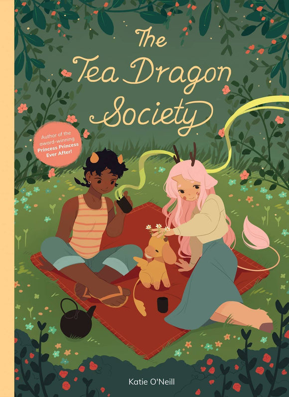 Tea Dragon Society (Hardcover) Graphic Novels published by Oni Press Inc.