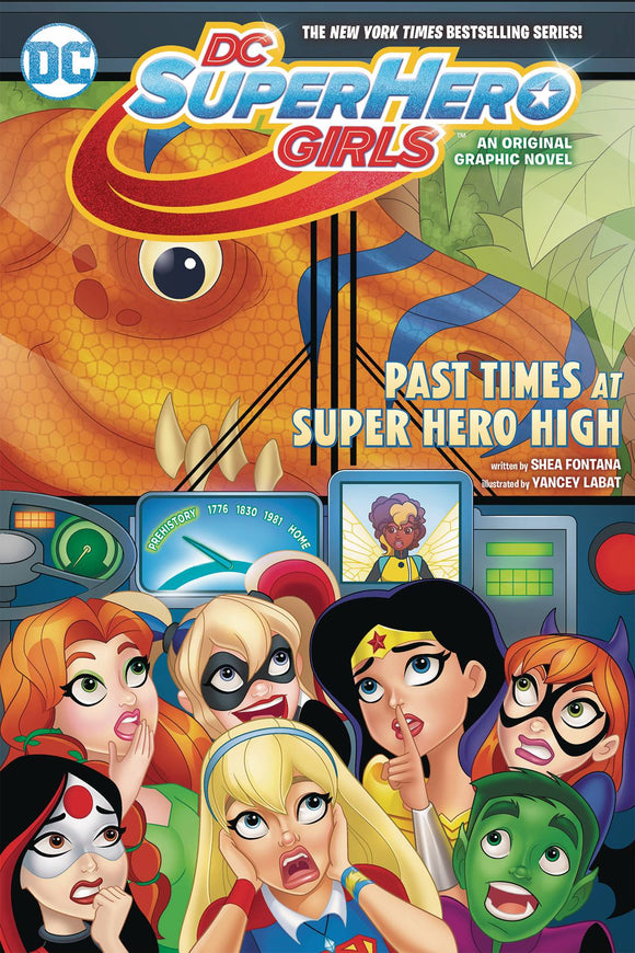 Dc Super Hero Girls (Paperback) Vol 04 Past Times At Super Hero High (Autographed Copy!) Graphic Novels published by Dc Comics