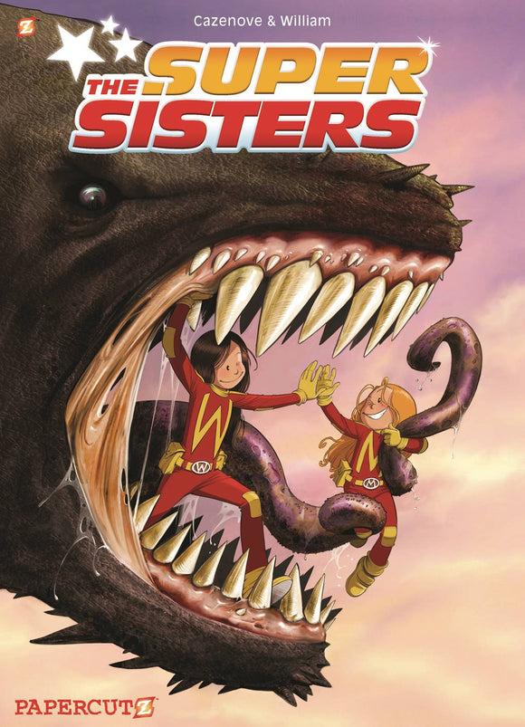 Super Sisters Gn Graphic Novels published by Papercutz