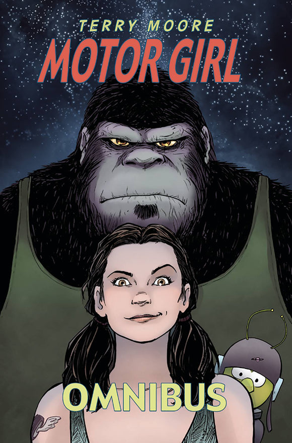 Motor Girl Omnibus Sc Graphic Novels published by Abstract Studios