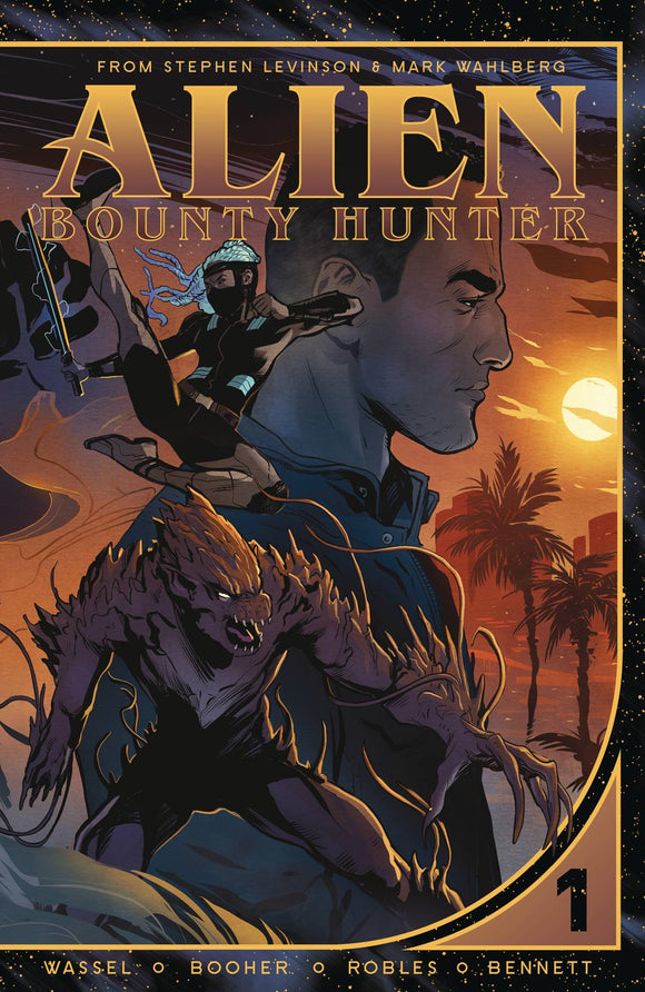 Alien Bounty Hunter (Paperback) Graphic Novels published by Vault Comics