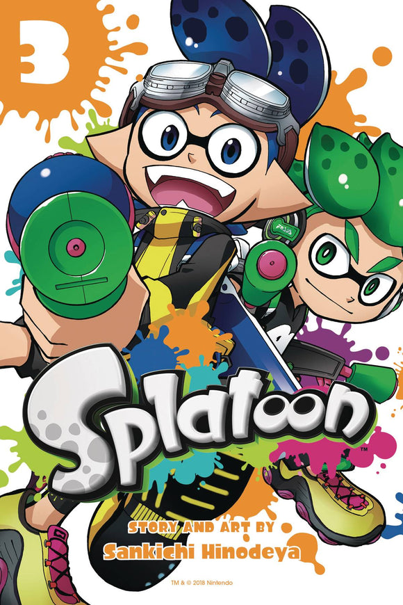 Splatoon Manga Gn Vol 03 Manga published by Viz Media Llc