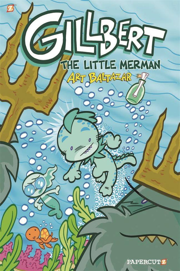 Gillbert The Little Merman Gn Vol 01 Graphic Novels published by Papercutz