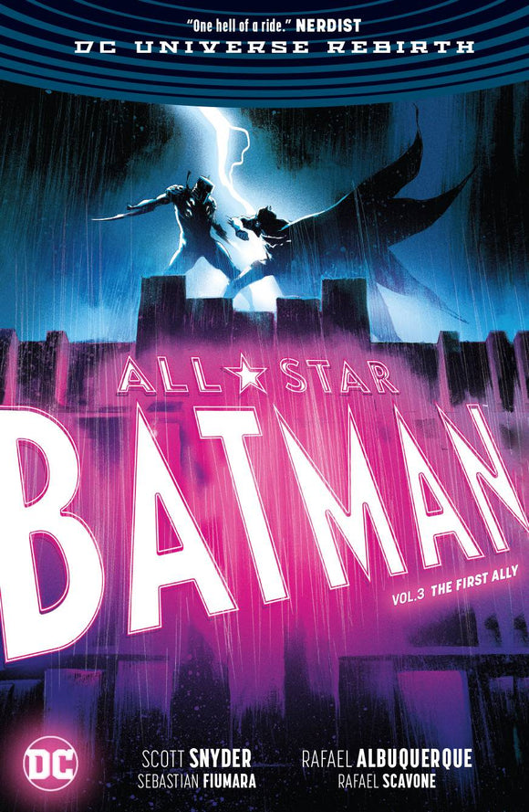 All Star Batman (Paperback) Vol 03 The First Ally Graphic Novels published by Dc Comics