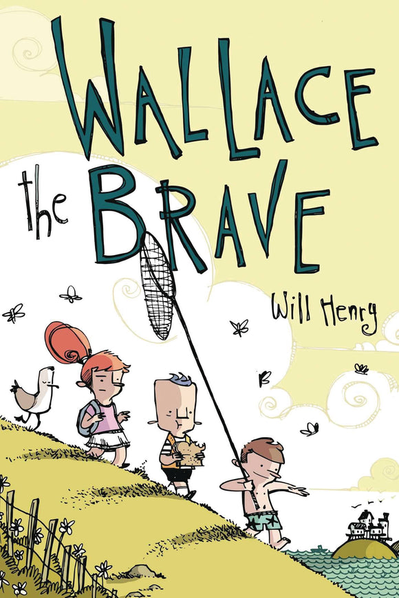Wallace The Brave Gn Vol 01 (Paperback) Graphic Novels published by Amp! Comics For Kids