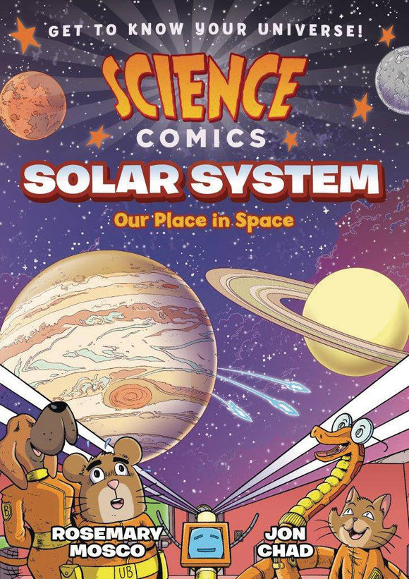 Science Comics Solar System (Paperback) Graphic Novels published by :01 First Second