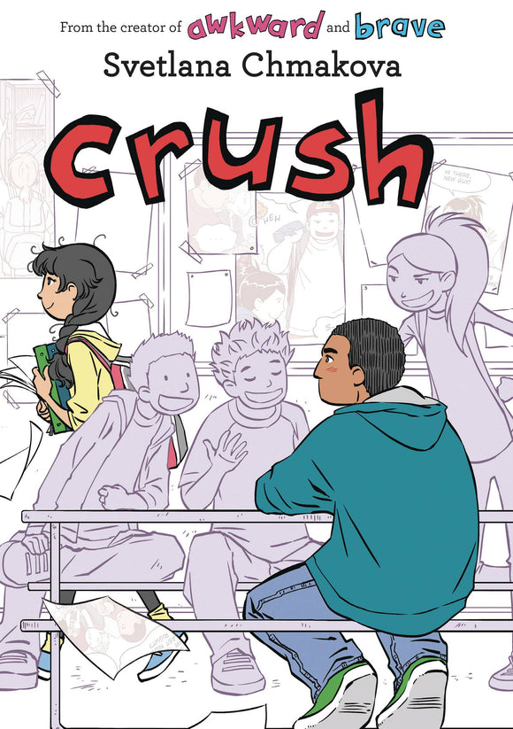 Crush Gn Graphic Novels published by Jy