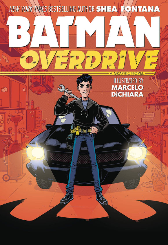 Batman Overdrive (Paperback) Graphic Novels published by Dc Comics