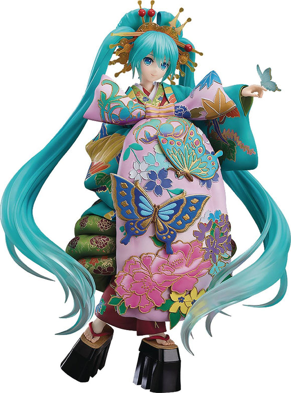 Hatsune Miku Chokabuki Kuruwa Kotoba Awase Kagami 1/7 Pvc Collectibles, Figures & Toys published by Good Smile Company