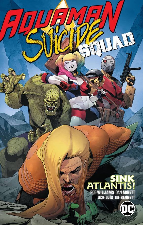 Aquaman Suicide Squad Sink Atlantis (Paperback) Graphic Novels published by Dc Comics