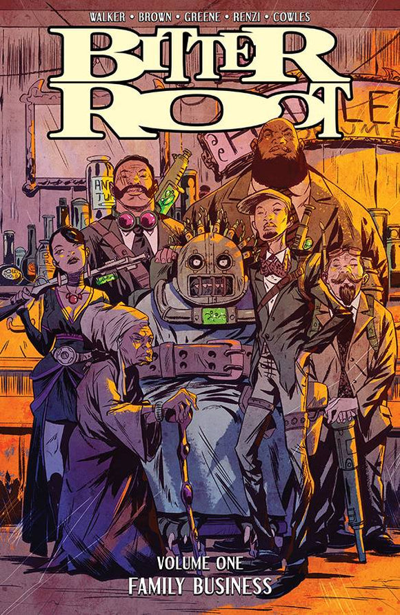 Bitter Root (Paperback) Vol 01 Family Business Graphic Novels published by Image Comics
