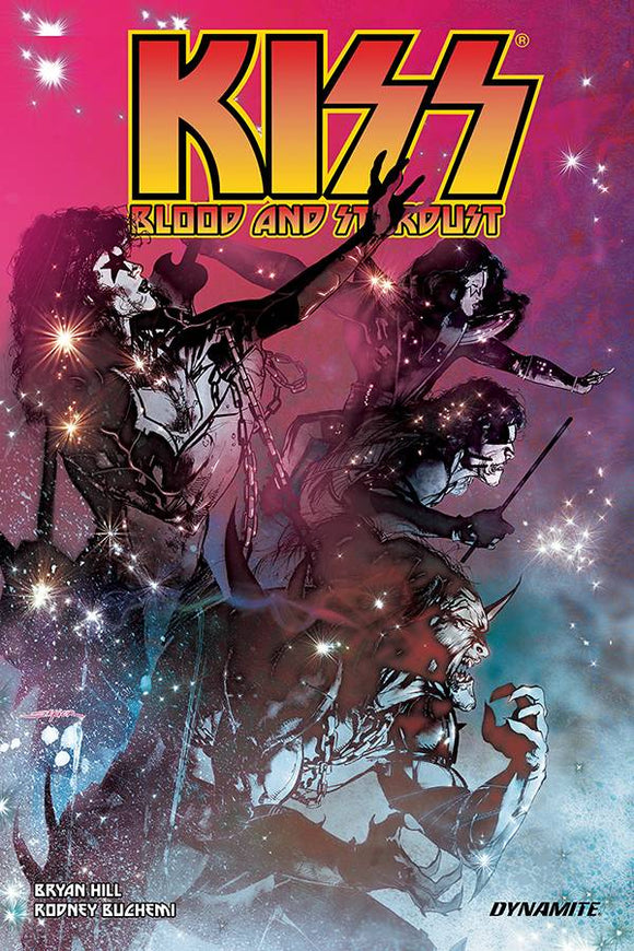 Kiss Blood Stardust (Paperback) Graphic Novels published by Dynamite