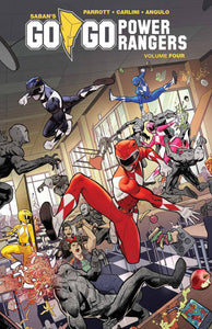 Go Go Power Rangers (Paperback) Vol 04 Graphic Novels published by Boom! Studios