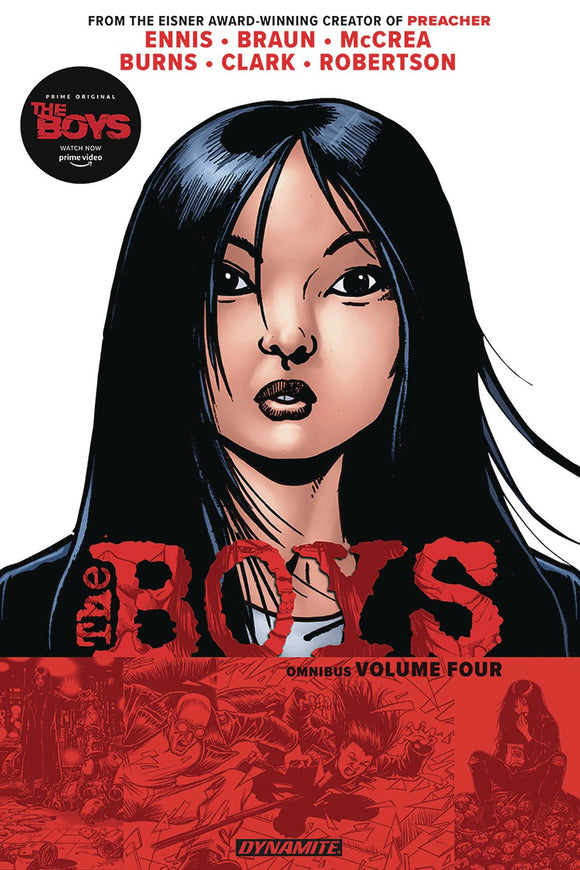Boys Omnibus (Paperback) Vol 04 (Mature) Graphic Novels published by Dynamite
