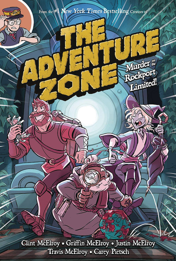 Adventure Zone Gn Vol 02 Murder On The Rockport Limited Graphic Novels published by :01 First Second