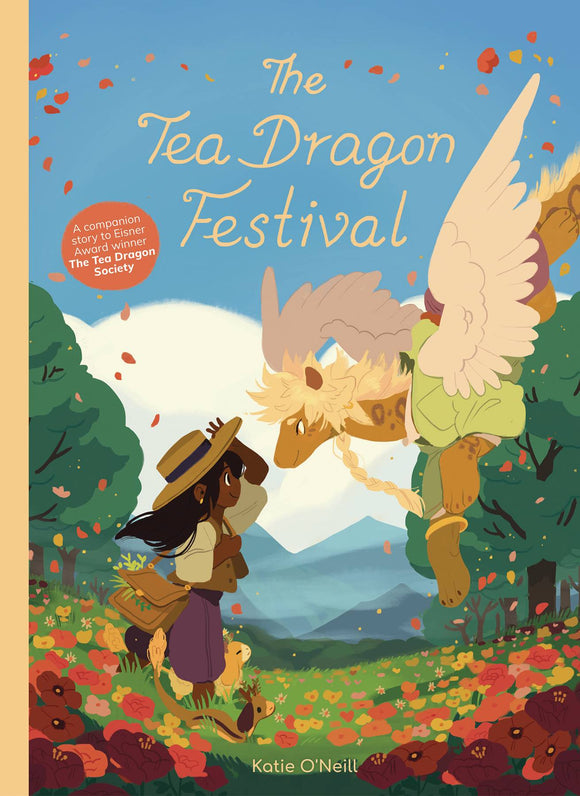 Tea Dragon Festival (Hardcover) (O/A) Graphic Novels published by Oni Press Inc.