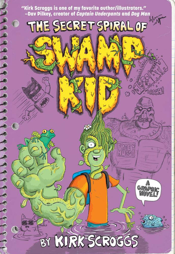 Secret Spiral Of Swamp Kid (Paperback) Dc Zoom Graphic Novels published by Dc Comics