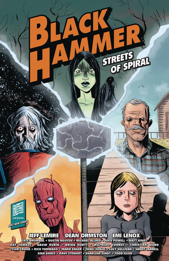 Black Hammer Streets Of Spiral (Paperback) (O/A) Graphic Novels published by Dark Horse Comics