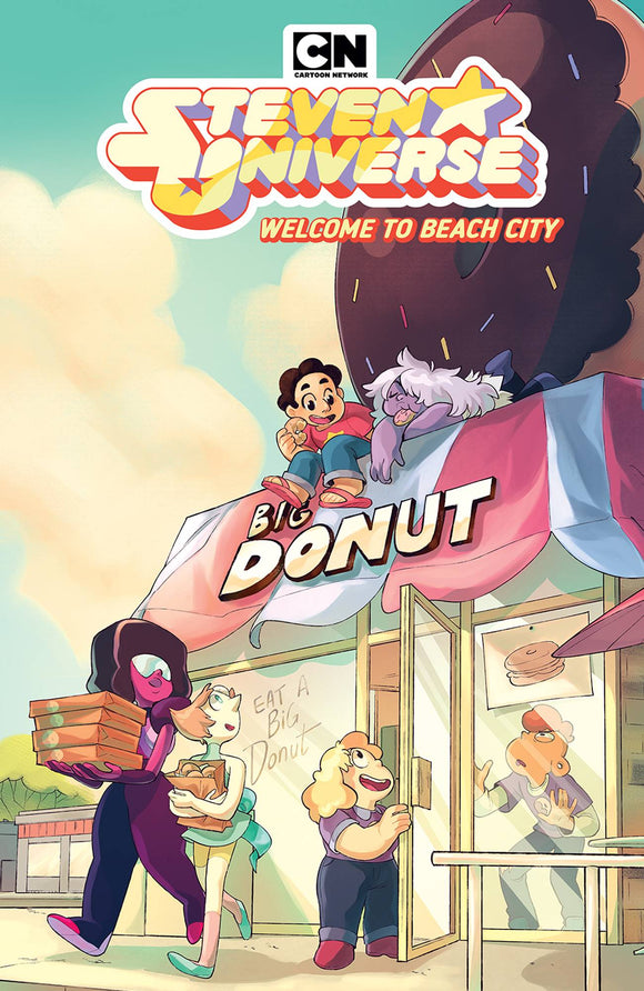 Steven Universe Welcome To Beach City (Paperback) Graphic Novels published by Boom! Studios