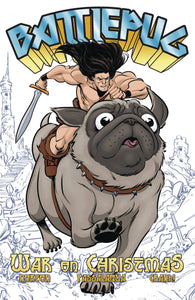 Battlepug (Paperback) Vol 01 War On Christmas Graphic Novels published by Image Comics