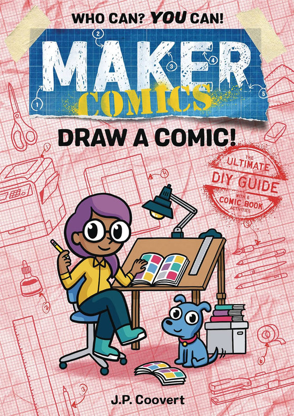 Maker Comics (Paperback) Draw A Comic Graphic Novels published by :01 First Second