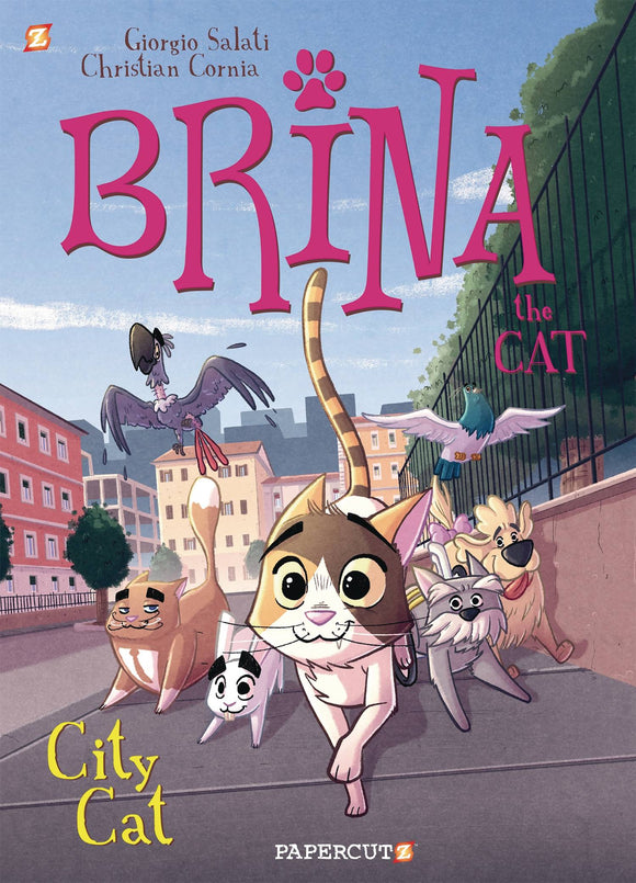 Brina The Cat Gn Vol 02 City Cat Graphic Novels published by Papercutz