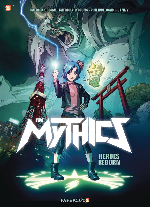 Mythics Gn Vol 01 Heroes Reborn Graphic Novels published by Papercutz