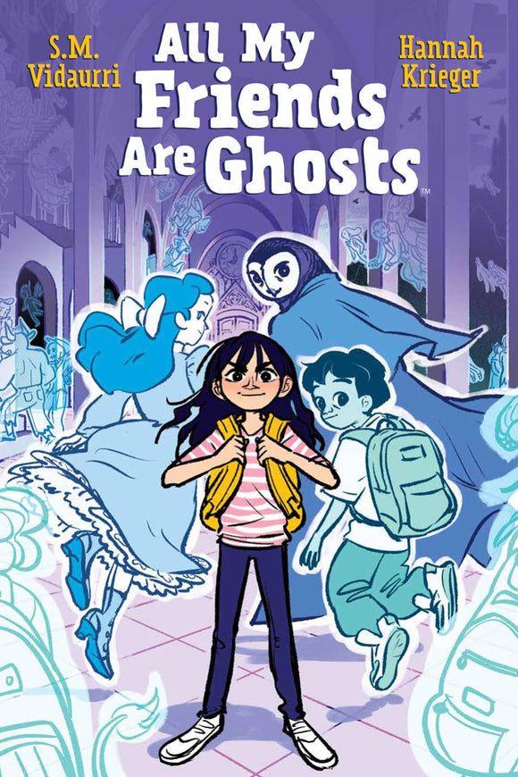 All My Friends Are Ghosts Original Gn Graphic Novels published by Boom! Studios