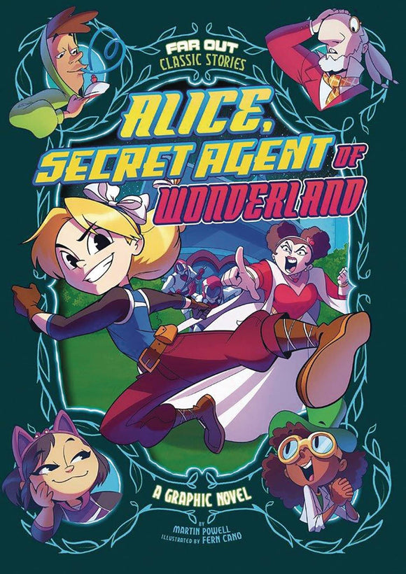 Alice Secret Agent Of Wonderland Yr Gn Graphic Novels published by Stone Arch Books