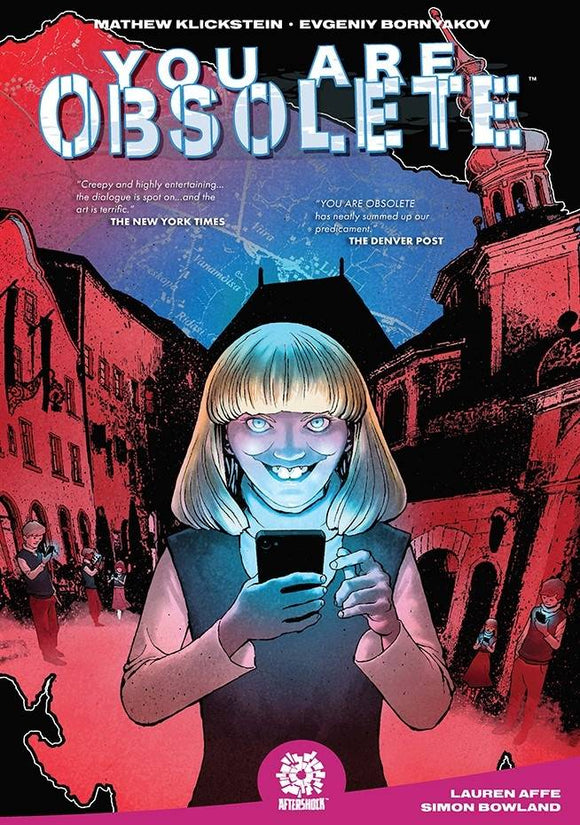 You Are Obsolete (Paperback) Graphic Novels published by Aftershock Comics