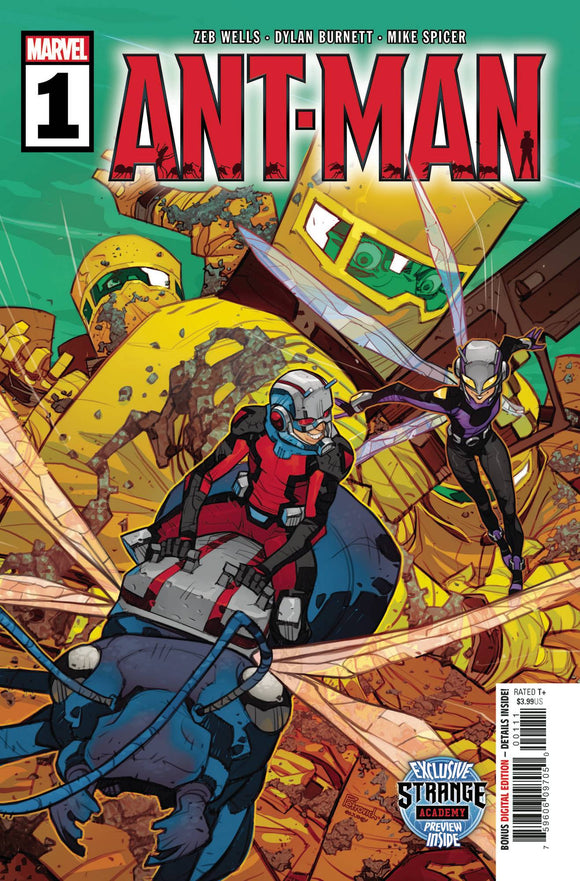 Ant-Man (2020 Marvel) (2nd Series) #1 (Of 5) Comic Books published by Marvel Comics