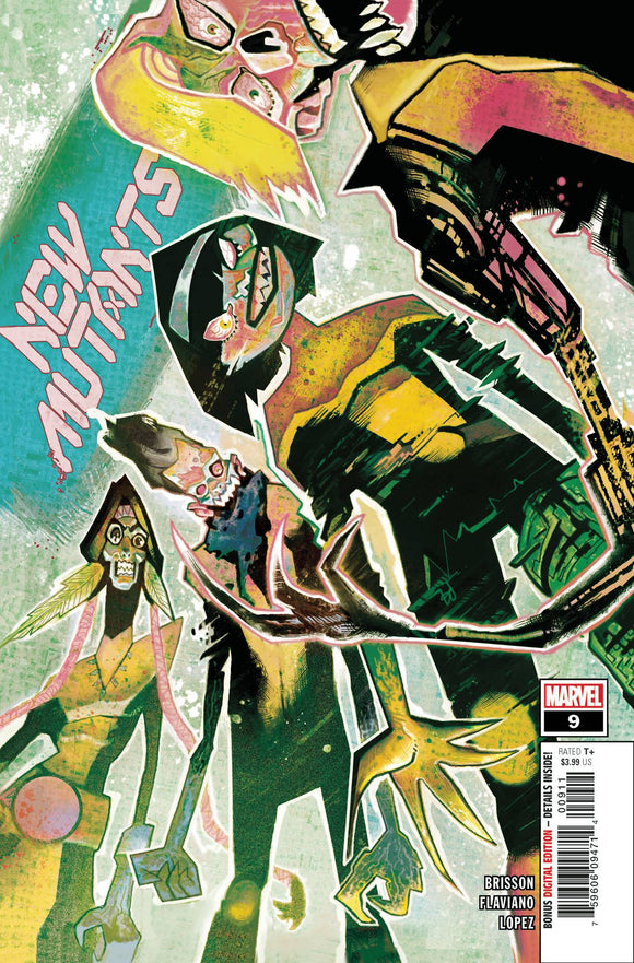 New Mutants (2019 Marvel) (4th Series) #9 (Dawn Of X) Comic Books published by Marvel Comics