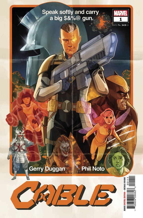Cable (2020 Marvel) (5th Series) #1 (Dawn Of X) (NM) Comic Books published by Marvel Comics