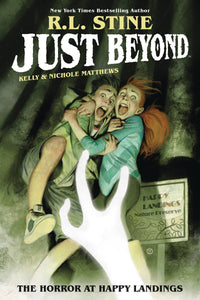 Just Beyond Horror At Happy Landings Original Gn Graphic Novels published by Boom! Studios