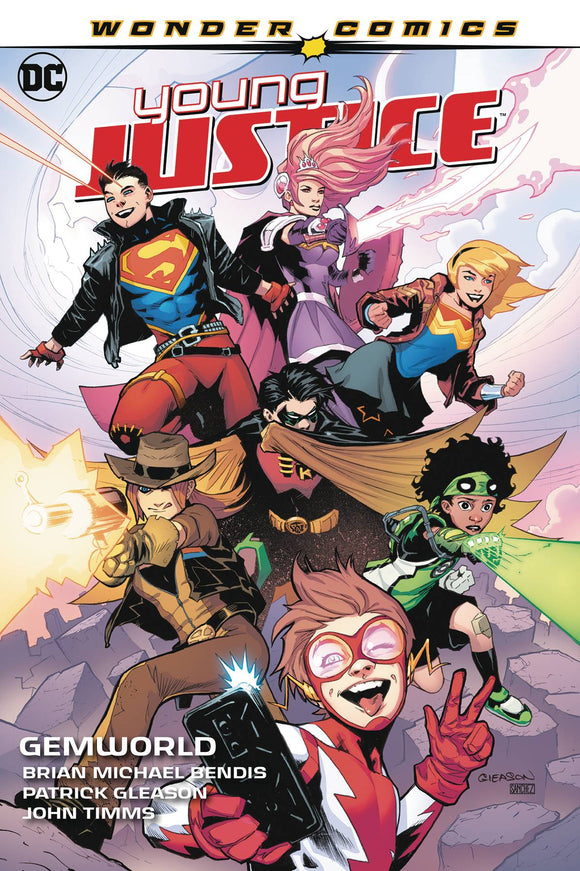 Young Justice (Paperback) Gemworld Graphic Novels published by Dc Comics