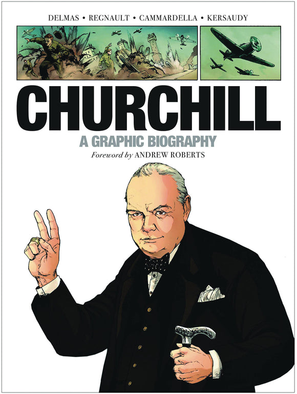 Churchill Graphic Biography Gn Graphic Novels published by Dead Reckoning