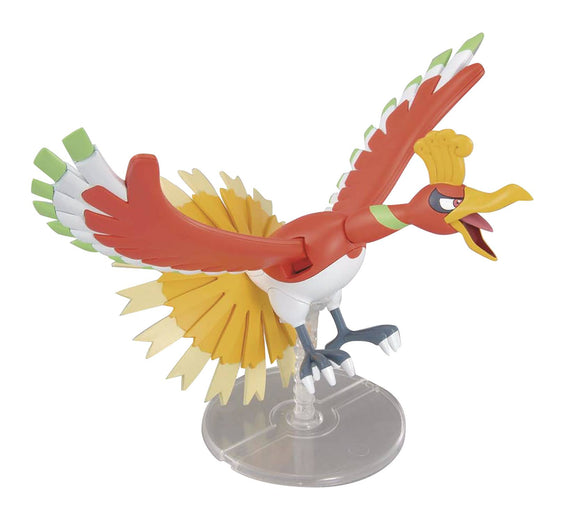 Pokemon Ho-Oh Bandai Model Kit Collectibles, Figures & Toys published by Bandai Hobby