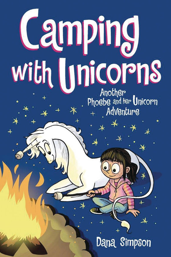 Phoebe & Her Unicorn (Paperback) Vol 11 Camping With Unicorns Graphic Novels published by Amp! Comics For Kids