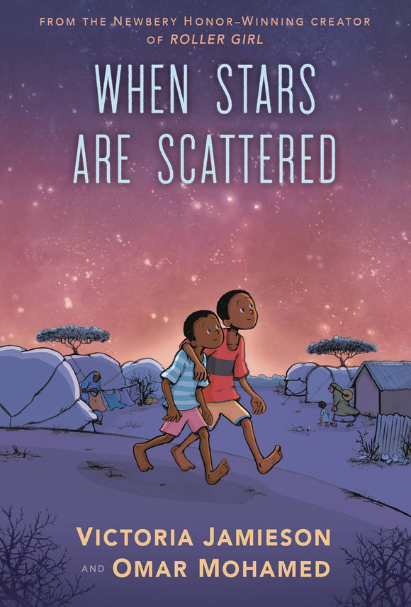 When Stars Are Scattered Gn Graphic Novels published by Dial Books
