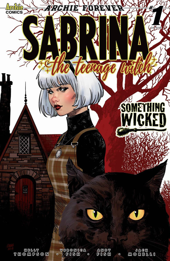 Sabrina The Teenage Witch Something Wicked (2020 Archie) #1 (Of 5) Cvr E Stewart (NM) Comic Books published by Archie Comic Publications