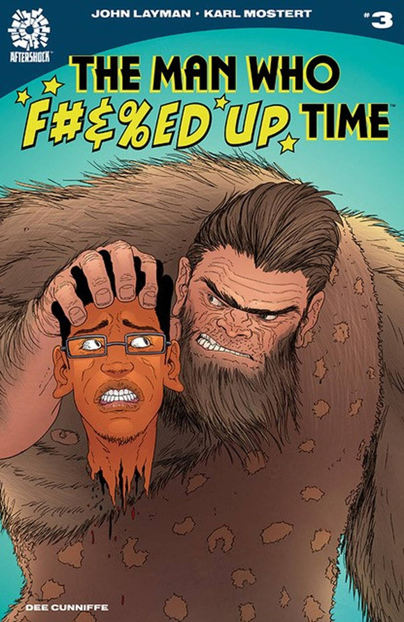 Man Who F#&%Ed Up Time (2020 Aftershock) #3 (NM) Comic Books published by Aftershock Comics