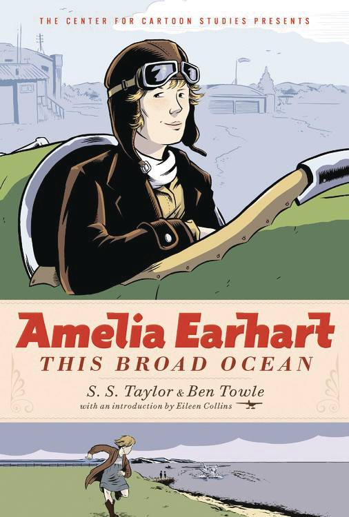 Amelia Earhart This Broad Ocean Gn Graphic Novels published by Disney - Hyperion