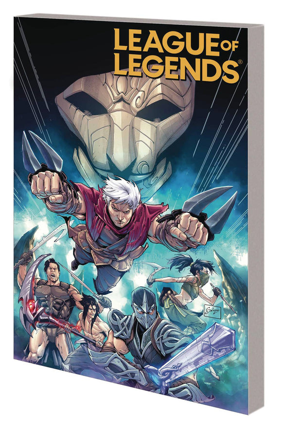 League Of Legends (Paperback) Zed Graphic Novels published by Marvel Comics
