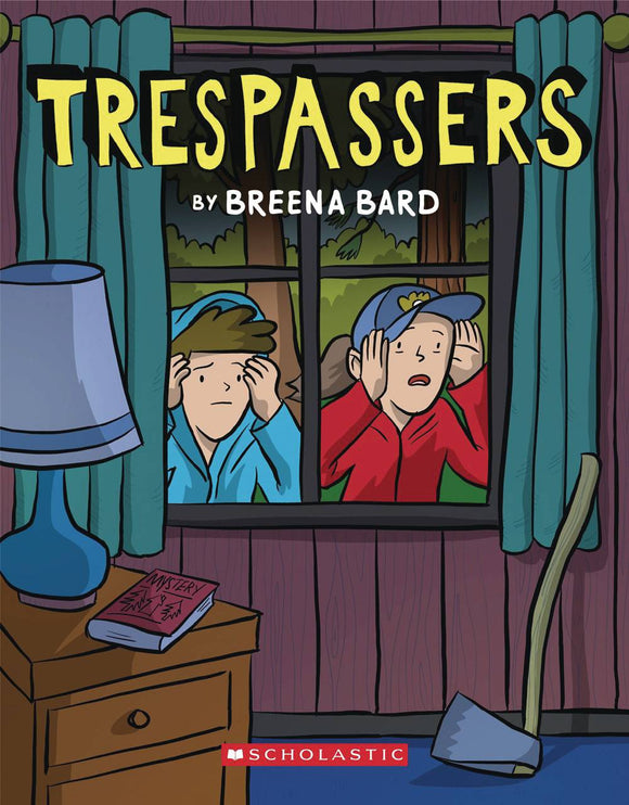 Trespassers Gn Graphic Novels published by Graphix