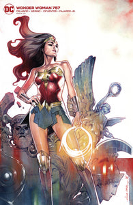 Wonder Woman (2016 Dc) (5th Series) #757 Card Stock Olivier Coipel Var Ed (NM) Comic Books published by Dc Comics