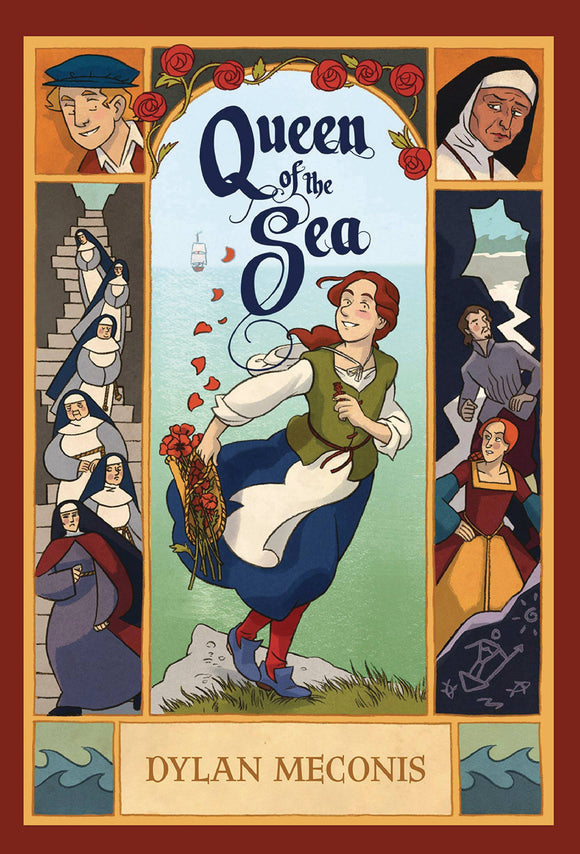 Queen Of The Sea Sc Gn Graphic Novels published by Walker Books Us