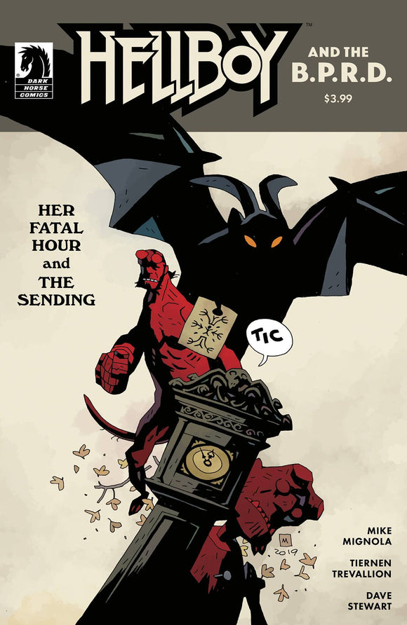 Hellboy and the B.P.R.D.: Her Fatal Hour (2020 Dark Horse) #1 Cover B Mignola Comic Books published by Dark Horse Comics