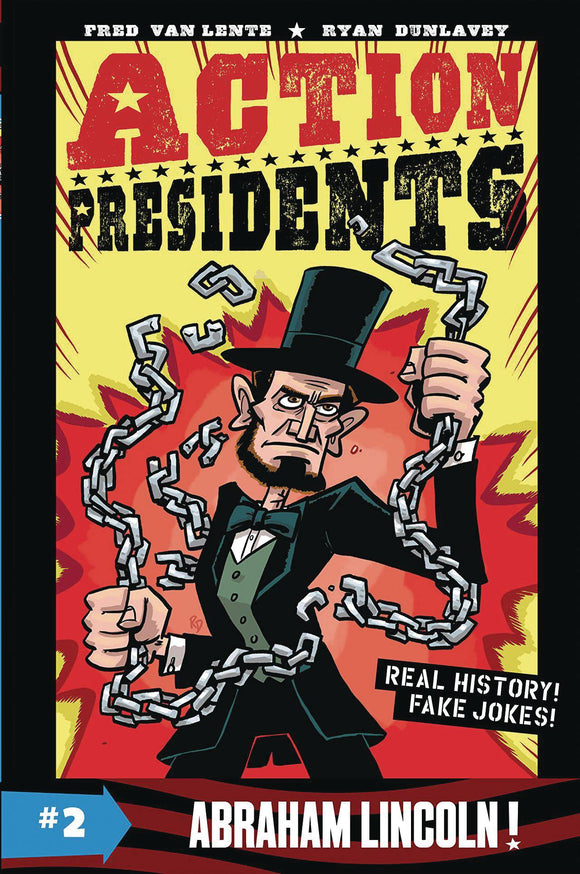 Action Presidents Color Sc Gn Vol 02 Abraham Lincoln Graphic Novels published by Harper Alley